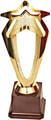 Homeshopeez Premium Star Trophy(9.7 Inches)