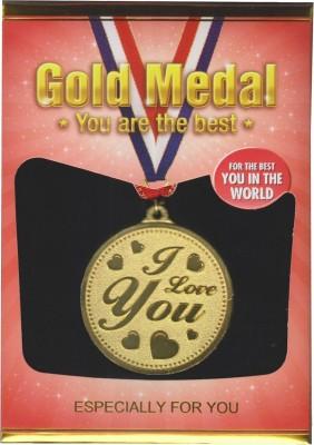 Atpata Funky I Love You Gold Medal Medal