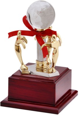 Frontfoot Sports FTK Crystal Team Award Trophy(21.5 cm)