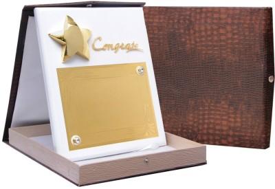 Frontfoot Sports FTK Premium Wooden Award 33 Trophy(30 cm)