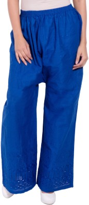 diva boutique Regular Fit Womens Blue Trousers