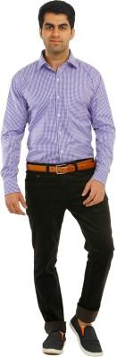 Richlook Slim Fit Men's Brown Trousers