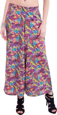 Saiarisha Regular Fit Women's Purple Trousers