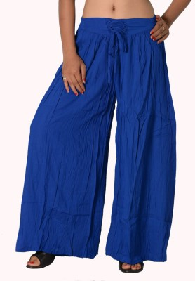 SBS Regular Fit Women's Blue Trousers