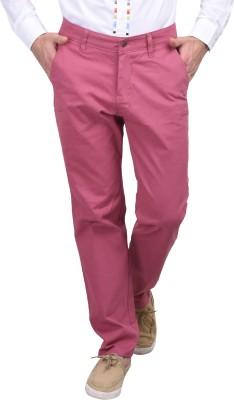 Srota Slim Fit Men's Pink Trousers