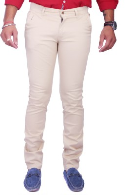 Rusty Cooper Regular Fit Men's White Trousers