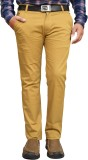 American Noti Slim Fit Men's Beige Trous...