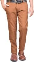 British Terminal Slim Fit Mens Brown Trousers