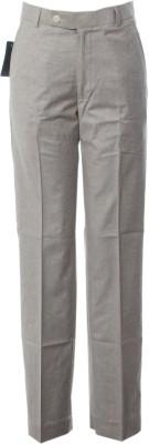 AzraJamil Regular Fit Men's Grey Trousers