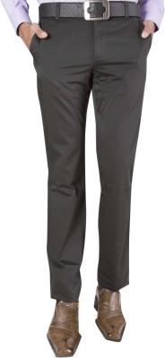 Barrier Reef Slim Fit Men's Dark Green Trousers