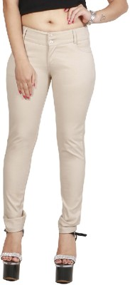 ZX3 Slim Fit Women's Beige Trousers