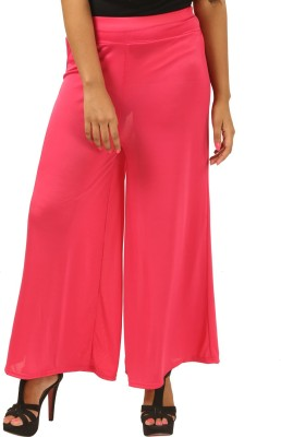 Advika Regular Fit Women,s Red Trousers