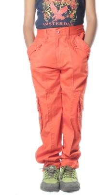 SETVEL Slim Fit Boy's Red Trousers