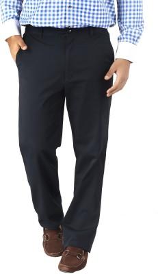 Silkina Regular Fit Men's Blue Trousers
