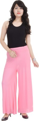 SANA FAB Regular Fit Women's Pink Trousers