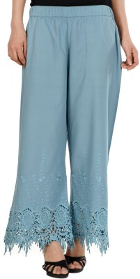 S9 Women Regular Fit Women's Grey Trousers