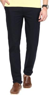 COBB Slim Fit Men's Blue Trousers