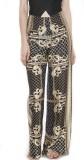 Divaat Slim Fit Women's Multicolor Trous...