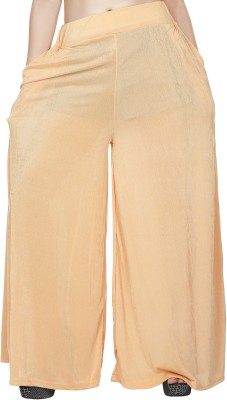 Comix Regular Fit Womens Gold Trousers