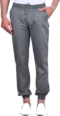 Cortos Regular Fit Men's Green Trousers