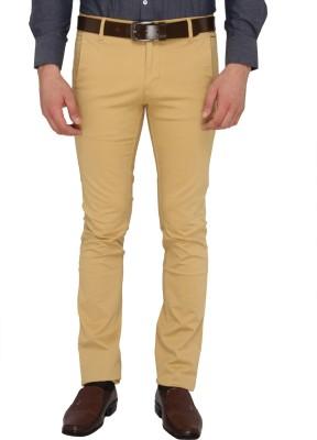 Donear NXG Slim Fit Men's Beige Trousers
