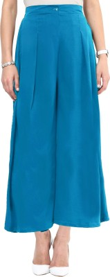 Uptownie Lite Regular Fit Women's Blue Trousers at flipkart