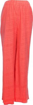 TRYFA Regular Fit Women's Orange Trousers