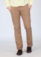 Breakbounce Regular Fit Mens Brown Trousers