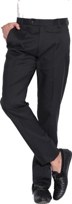 Fizzaro Regular Fit Men's Black Trousers