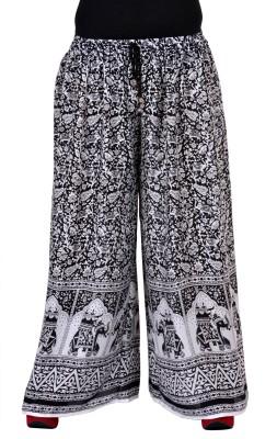 Soundarya Regular Fit Womens Black Trousers