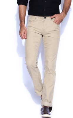 Killer Slim Fit Men,s Beige Trousers