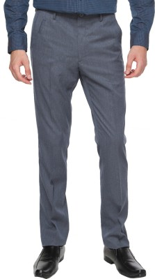 Arrow Newyork Slim Fit Men's Grey Trousers