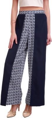 Sassafras Regular Fit Women,s Blue Trousers