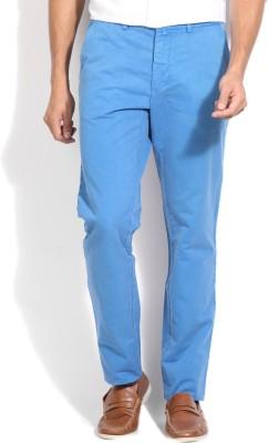 Gant Regular Fit Men's Blue Trousers