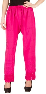 Kritika's World Regular Fit Women's Pink Trousers