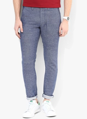 Jack & Jones Slim Fit Men's Light Blue Trousers