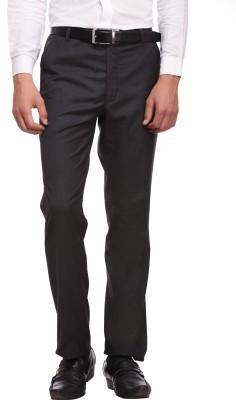 Luxurazi Slim Fit Men,s Grey Trousers