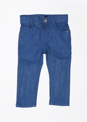 United Colors of Benetton Skinny Fit Boy's Blue Trousers