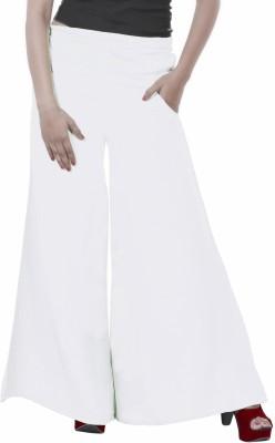 Inblue Fashions Regular Fit Women,s White Trousers