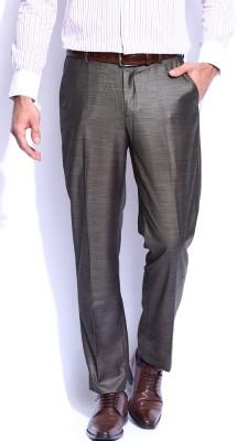 Invictus Skinny Fit Men's Grey Trousers