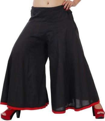 Inblue Fashions Regular Fit Women,s Black Trousers