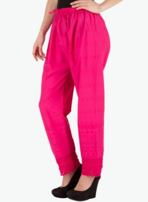T Global Regular Fit Women's Pink Trousers