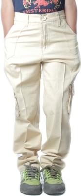 SETVEL Slim Fit Boy's Cream Trousers