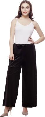 Selfie Regular Fit Women's Black Trousers