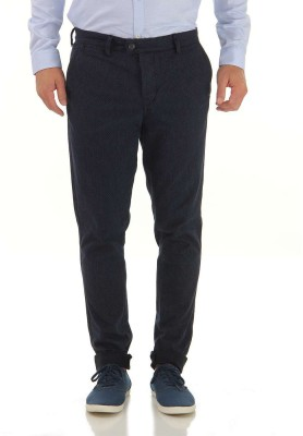 Jack & Jones Slim Fit Men's Blue Trousers