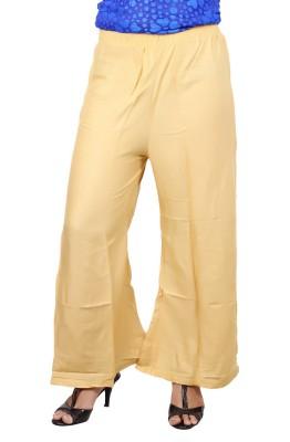 A33STORE Regular Fit Women's Cream Trousers