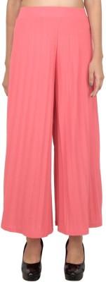 LondonHouze Regular Fit Women's Pink Trousers