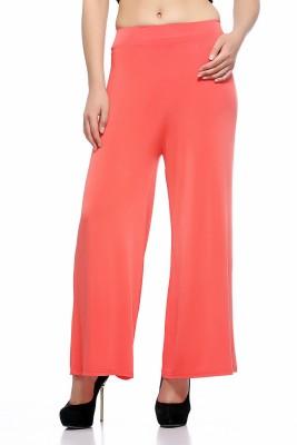 Fasnoya Regular Fit Womens Pink Trousers