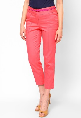 Vero Moda Regular Fit Women's Pink Trousers