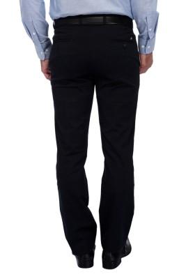 FRANK JEFFERSON Slim Fit Men's Blue Trousers